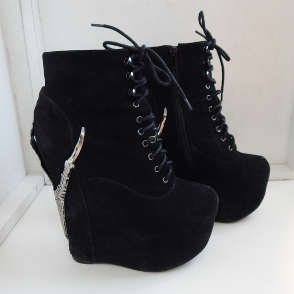 73b498bc07f7 Jeffrey Campbell Shoes - Jeffrey Campbell  Damsel  Claw Platform Boots